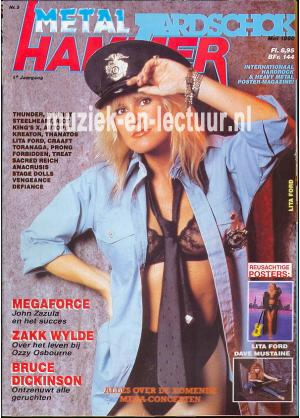 Metal Hammer & Aardschok 1990 nr. 05