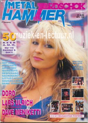 Metal Hammer & Aardschok 1990 nr. 06