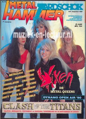 Metal Hammer & Aardschok 1990 nr. 07 / 08