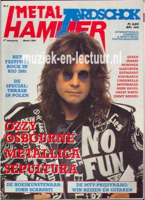 Metal Hammer & Aardschok 1991 nr. 03