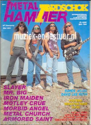 Metal Hammer & Aardschok 1991 nr. 05