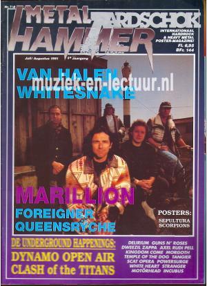 Metal Hammer & Aardschok 1991 nr. 07 / 08
