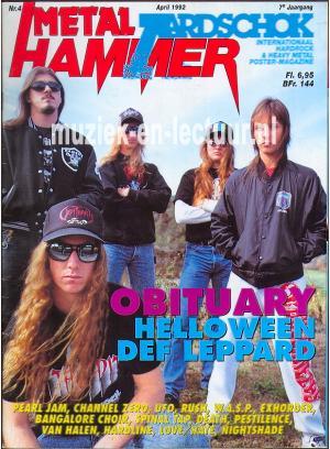 Metal Hammer & Aardschok 1992 nr. 04