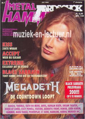 Metal Hammer & Aardschok 1992 nr. 07