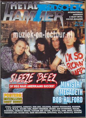 Metal Hammer & Aardschok 1993 nr. 01