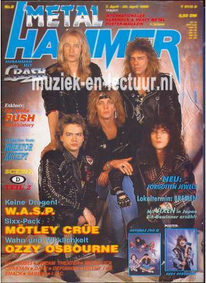 Metal Hammer & Crash 1989 n. 08