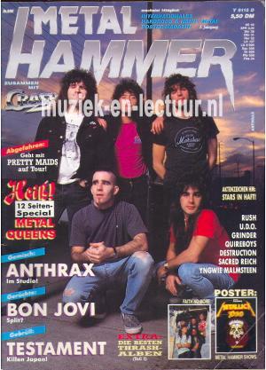 Metal Hammer & Crash 1990 nr. 09