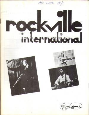 Rockville International 1971 march/april