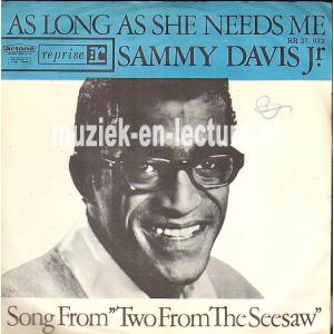 As long as she needs me - Song from two for the seesaw