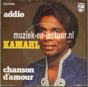 Chanson d'amour - Addio