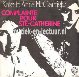 Complainte pour Ste Catherine - Blues in D