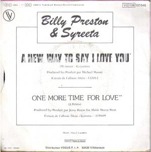 A new way to say I love you - One more time for love