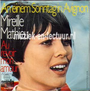 A einem Sonntag in Avignon - Au revoir mon amour