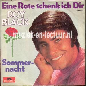 eine rose schenk ich dir sommernacht roy black. Black Bedroom Furniture Sets. Home Design Ideas