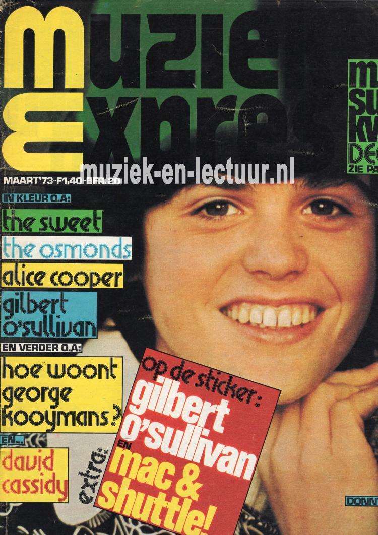 Muziek Expres 1973, maart