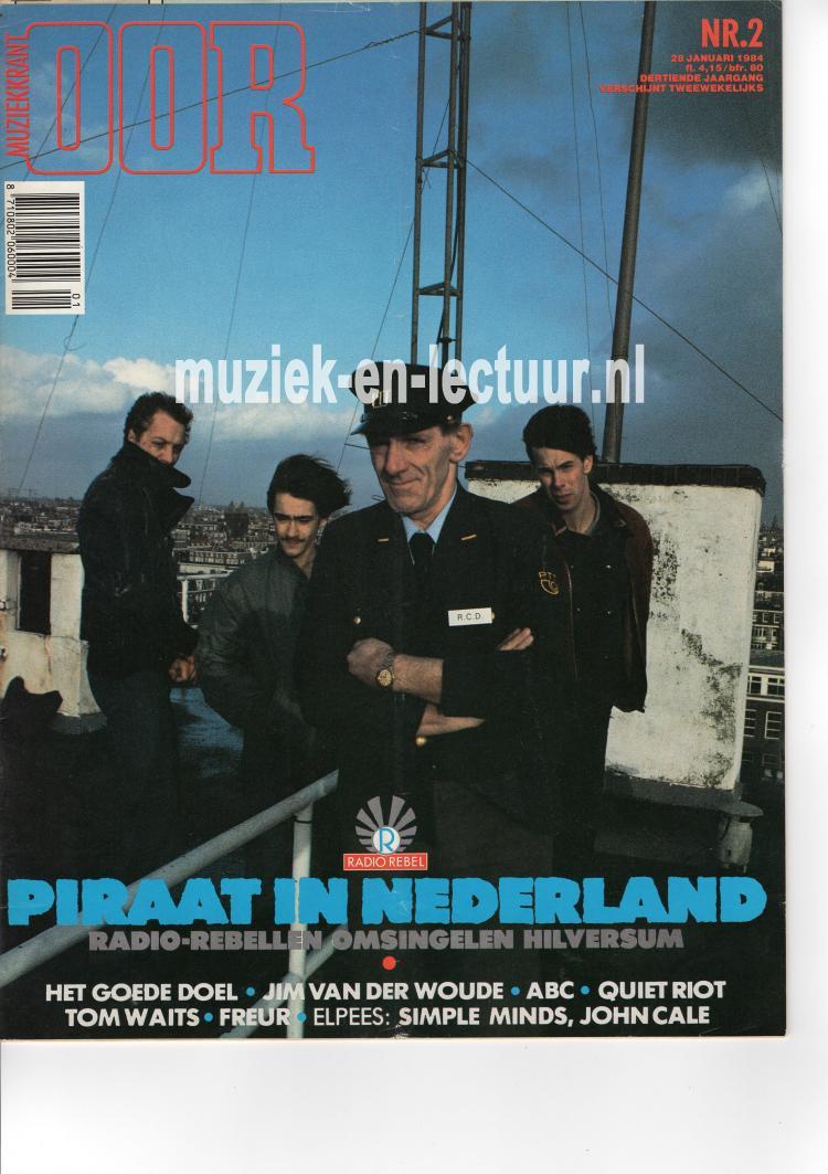 Muziekkrant Oor 1984 nr. 02