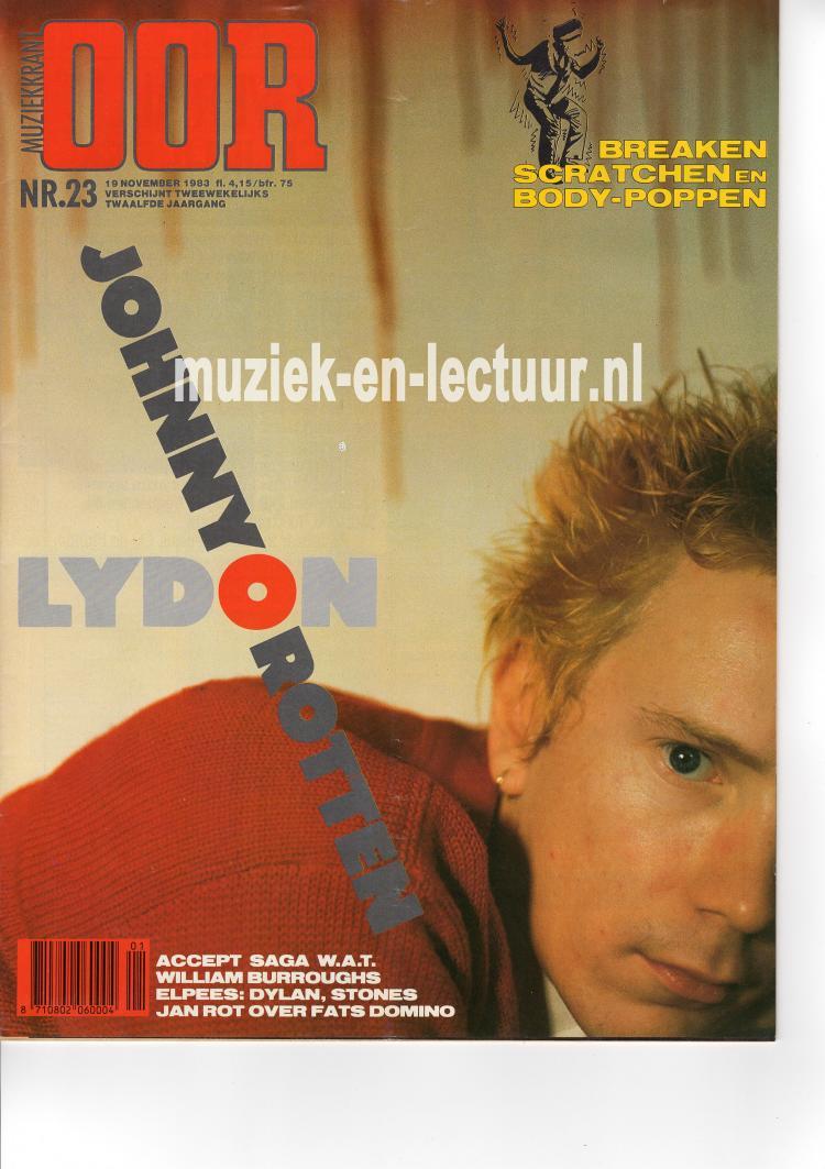 Muziekkrant Oor 1983 nr. 23