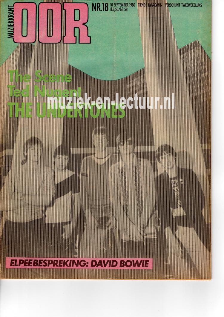 Muziekkrant Oor 1980 nr. 18