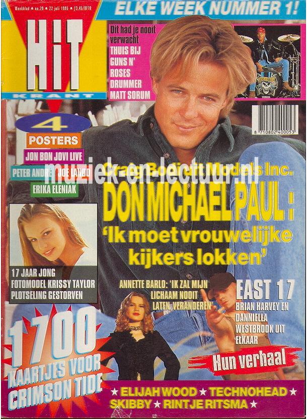 Hitkrant 1995 nr. 29