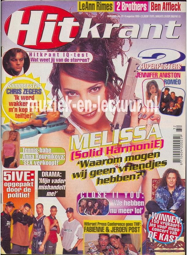 Hitkrant 1998 nr. 32