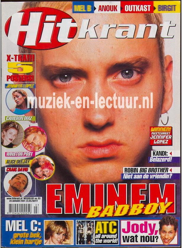 Hitkrant 2001 nr. 03