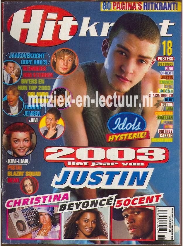 Hitkrant 2003 nr. 51/52