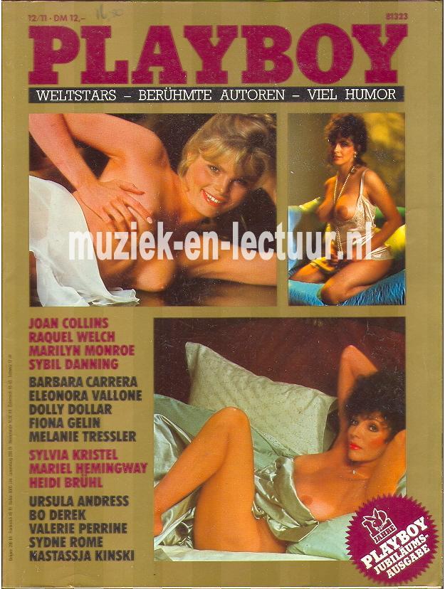 Playboy Jubilaums-Ausgabe 12 jahre