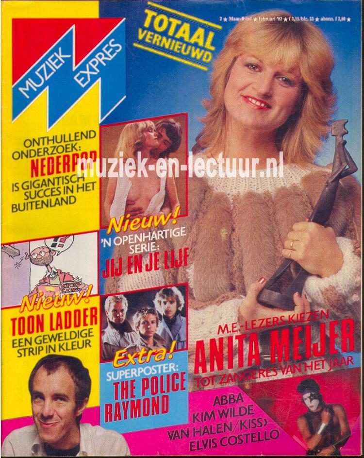 Muziek Expres 1982, februari