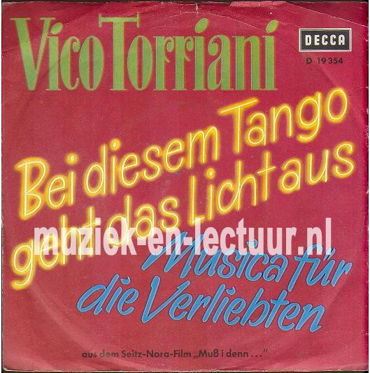 Bei diesem Tango geht das Licht aus - Musica fur die Verliebten