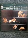 Four favorite violin concertos