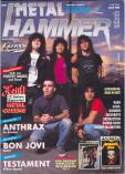 Metal Hammer & Crash 1990 nr. 09
