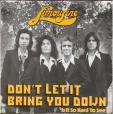 Don't let it bring you down - Is it so hard to see
